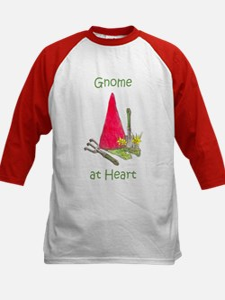 Gnome at Heart Kids Baseball Jersey