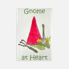 Gnome at Heart Rectangle Magnet