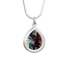 zportrait Silver Teardrop Necklace