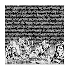 alice-vintage-border_black_14-333x18v Tile Coaster
