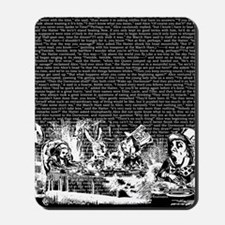 alice-vintage-border_black_14-333x18v2 Mousepad