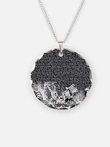 alice-vintage-border_black_1 Necklace