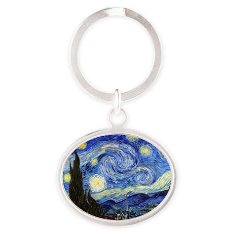 SmPoster VG Starry Oval Keychain