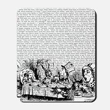 alice-vintage-border_bw_14-333x18v2 Mousepad
