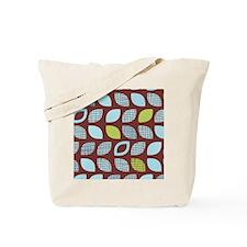 DotPattern_BrownBlue_78 Tote Bag