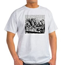 alice-vintage-border_bw_9x9 T-Shirt