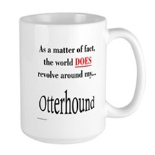 Otterhound World Mug