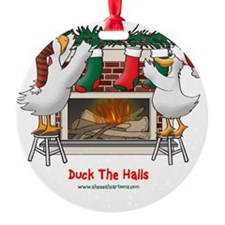 DuckTheHallslt Ornament