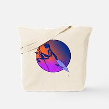 Praying Mantis Meditation Tote Bag