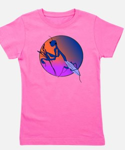 Praying Mantis Meditation Girl's Tee