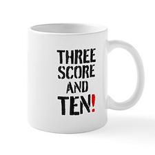 THREE SCORE AND TEN! Mugs