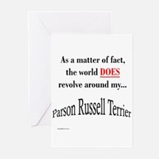 Parson Russell World Greeting Cards (Pk of 10)