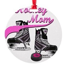 hockey_mom_pink Ornament