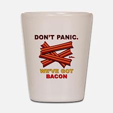 vcb-bacon-dontpanic2-2011 Shot Glass
