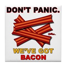 vcb-bacon-dontpanic2-2011 Tile Coaster