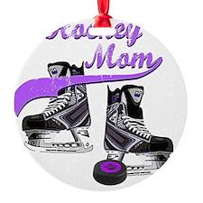 hockey_mom_purple Ornament
