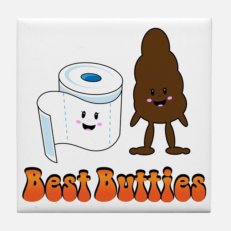 2011-12-07_Funny-BestButties Tile Coaster