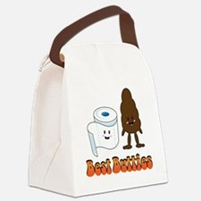 2011-12-07_Funny-BestButties Canvas Lunch Bag
