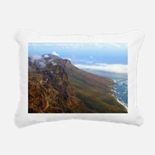 Table Mountain Rectangular Canvas Pillow