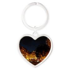 Nelson Mandela Square, Johannesburg Heart Keychain