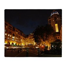 Nelson Mandela Square, Johannesburg Throw Blanket