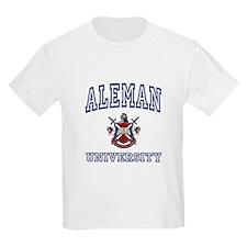 ALEMAN University Kids T-Shirt