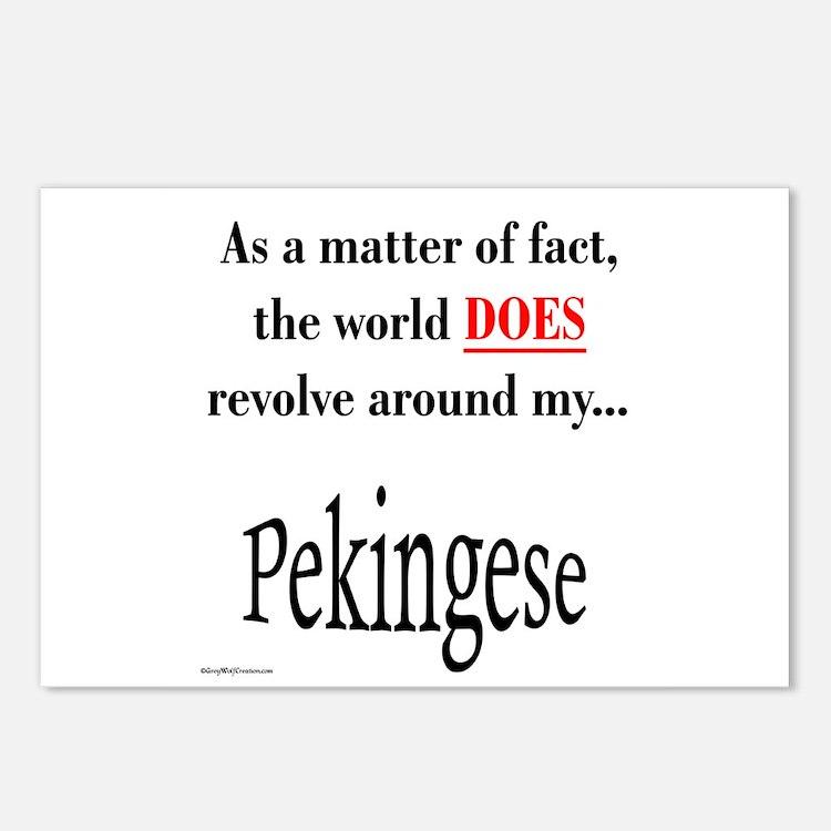 Pekingese World Postcards (Package of 8)