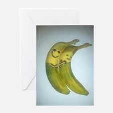 Banana Hug Greeting Card