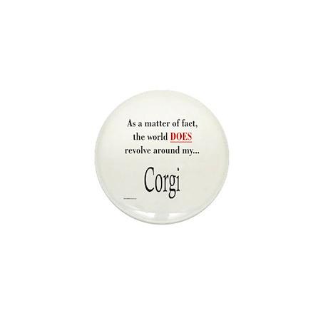 Corgi World Mini Button