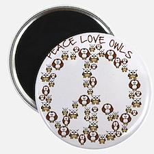 peaceloveowls Magnet