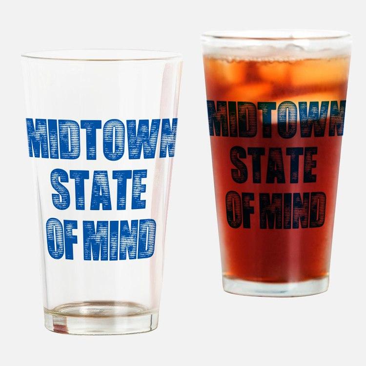 Midtown_StateofMind Drinking Glass