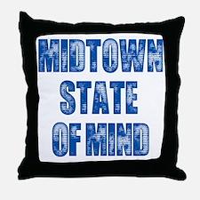 Midtown_StateofMind Throw Pillow