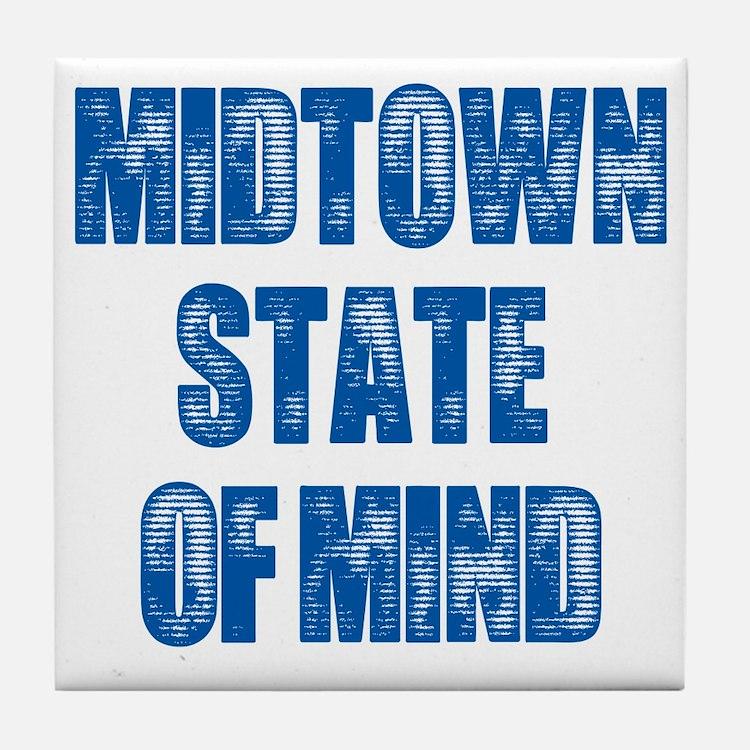 Midtown_StateofMind Tile Coaster