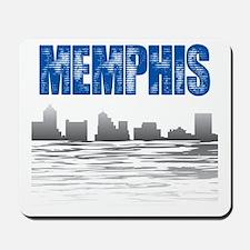 Memphis_T_Shirt_white Mousepad