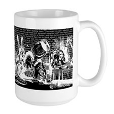 alice-vintage-border_black_6x18h Mug