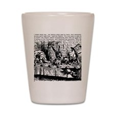 alice-vintage-border_bw_12-5x13-5h Shot Glass