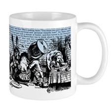 alice-vintage-border_blue_6x18h Mug