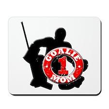 Hockey Goalie Mom #1 Mousepad