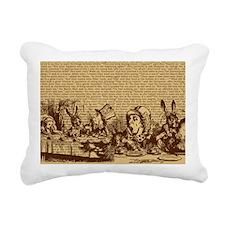 alice-vintage-border_bro Rectangular Canvas Pillow