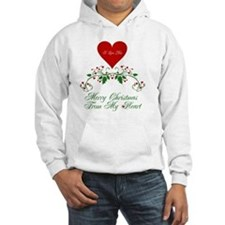 Merry Christmas From My Heart2 Hoodie