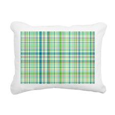 plaid1.4 Rectangular Canvas Pillow