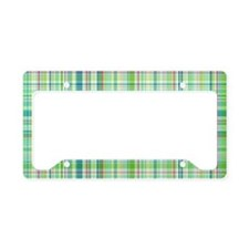 plaid1.4 License Plate Holder