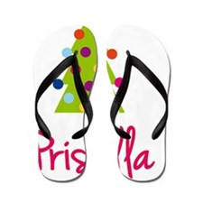 Christmas-tree-Priscilla Flip Flops