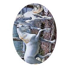 Unicorn_ReuionPhone Oval Ornament