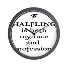 halfling Wall Clock