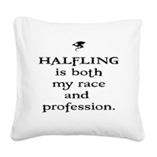 halfling Square Canvas Pillow