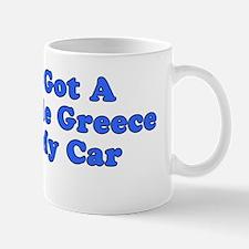 Greece On Car Bumper Sticker Mug