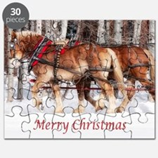 5x7cardmerry christmasjpg copy Puzzle
