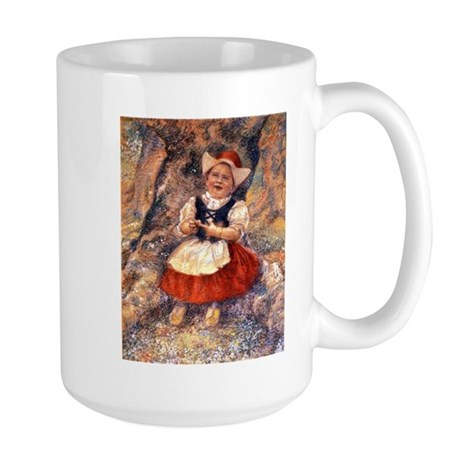 Little Dutch Girl Large Mug