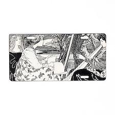 jugend february 1896 2 - ed Aluminum License Plate